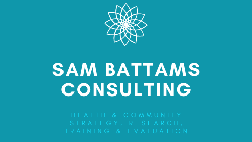 Dr Samantha Battams, Strategy, Research & Evaluation Consultant